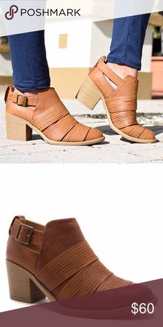 Camel Booties Our Tobin Camel Booties look great with denim, navy, olive, or black.  Honestly, the options are limitless!! Man-made materials.  True to size. Boutique pricing is FIRM. Shoes Ankle Boots & Booties