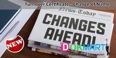"""This document consist of """"Turnover Certificate"""" in editable word format making it handy for you to use and save your time and efforts."""