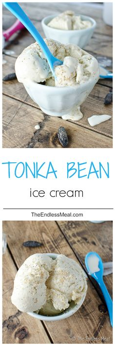 Chocolate Wontons And Tonka Bean Ice Cream Recipes — Dishmaps
