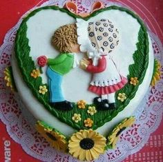Precious Moments Anniversary Cake