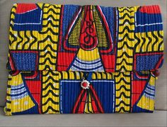 African print clutch bag by AzizaBoutique on Etsy