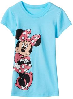f28b68d7af1e Disney Disney's Girls 7-16 Minnie Mouse Leaning Glitter Graphic Tee -  ShopStyle
