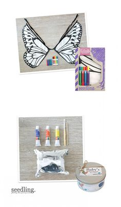 Transform yourself into a colorful creature! Make butterfly wings of your very own with our easy DIY kit.
