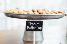 Peanut Butter Cups - delicious! #FearringtonWedding #FearringtonVillage | Photographed by @Krystal Kast Photography #KrystalKastPhotography