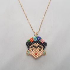 Collar Minnie o Mickey – lilomarket Bead Embroidery Jewelry, Beaded Jewelry Patterns, Beaded Embroidery, Beading Patterns, Easy Perler Bead Patterns, Peyote Stitch Patterns, Hama Beads Design, Fuse Beads, Bijoux Diy