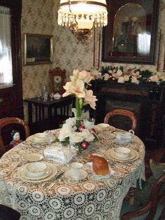 Dining Room Circa 1908