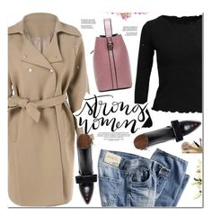 """Trench Coat"" by oshint ❤ liked on Polyvore featuring Marni"