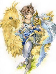 Week 5 - Final Fantasy V - Fan Art Wed - More Boko