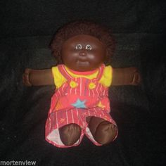 1989-CABBAGE-PATCH-KIDS-AFRICAN-BLACK-BOY-MALE-BABY-DOLL-WITH-OUTFIT