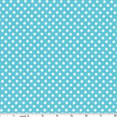 Sarah Jane - Children at Play - Dot to Dot in Aqua- cute with the parade fabric!