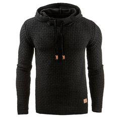 Fashion Hoodies Fashion Christmas Snowflower Prints Pullover Winter Sweater Men Black Sweater Mens Elk Hood Women Black L