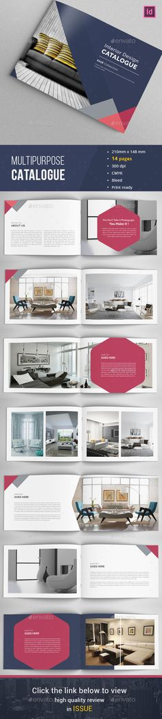Indesign Catalog  Portfolio 03 — InDesign INDD #interior #booklet • Available here → https://graphicriver.net/item/indesign-catalog-portfolio-03/15999220?ref=pxcr
