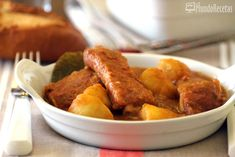 Patatas con costillas en Thermomix TM5