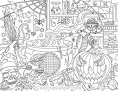 halloween therapy coloring pages - photo#3
