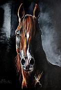 Horse Art - Monogramm by Angel  Tarantella
