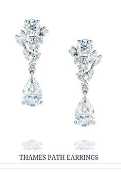 Thames Path earrings