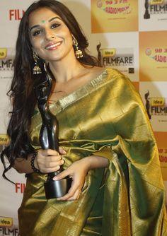 Vidya Balan in beautiful saree
