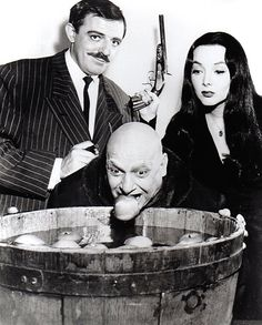 The Addams Family, ca. 1960's. ☚