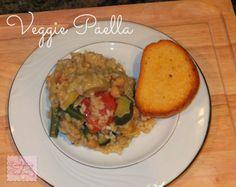 Carolyn in Carolina - Veggie Paella Recipe!
