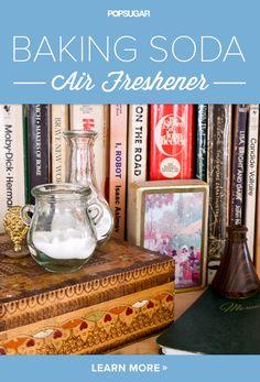 Baking Soda Air Freshener!