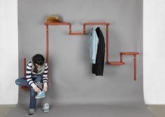 Entrance Furniture need to install mine | vintage + modern | pinterest | house