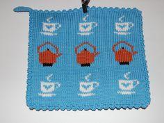 Ingegerds grytlappar - vittingebrodyr Crochet Kitchen, Westies, Pot Holders, Knit Crochet, Knitting, Sewing, Christmas, Crafts, Clothes