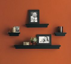 Threshold Floating Shelves Endearing Threshold™ Wall Shelves & Frame  Set Of 6Wid280&hei280  My Design Decoration