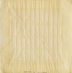 Agnes Martin, The city 1966 – ink and graphite on paper
