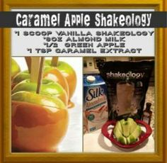 A great dessert alternative or quick and healthy meal replacement and it is perfect for Fall! Shakeology Shakes, Beachbody Shakeology, Vanilla Shakeology, Chocolate Shakeology, Herbalife Shake, 310 Shake Recipes, Protein Shake Recipes, Smoothie Recipes, Protein Shakes
