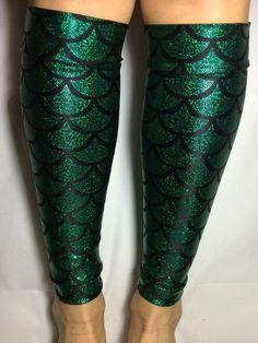 b4d0f28df Ariel Little Mermaid inspired Calf Sleeves by RunAliceRunCo Run Disney  Costumes, Running Costumes, Little