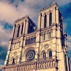 Cathédrale Notre-Dame de Paris itt: Paris, Île-de-France
