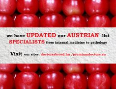 How do you like our new Food Flag? See our Austrian offers and get more out of your medical career. http://premiumdoctors.eu/austrian-medical-doctor-jobs/