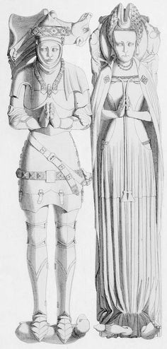 Humphrey Stafford, Duke of Buckingham and his wife, Lady Anne Neville were Lancastrians. Lady Anne was sister to Cecily. When Cecily was under house arrest, she was placed in the care of her sister. John Of Gaunt, Anne Neville, Uk History, Wars Of The Roses, Plantagenet, Richard Iii, Medieval Armor, Medieval Fashion, Historical Images