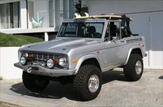 73 Silver Bronco by Rocky Roads
