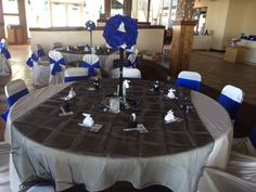 Table set up at a wedding I did