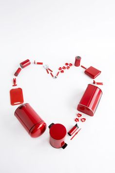 Spice up your kitchen with our passionate red collection! #Love #Passion #Christmas #Gift #Festive
