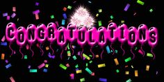Fireworks Animation, Fireworks Gif, Congratulations Pictures, Congratulations And Best Wishes, Animated Smiley Faces, Animated Gif, Birthday Msgs, Happy Birthday, Funny Birthday