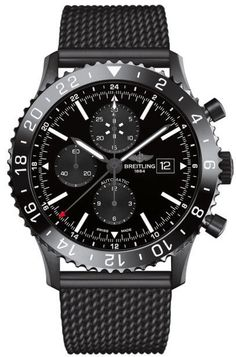 @breitling Watch Chronoliner Blacksteel PVD Bracelet #add-content #bezel-bidirectional #bracelet-strap-steel #brand-breitling #case-depth-15-95mm #case-material-black-pvd #case-width-46mm #chronograph-yes #date-yes #delivery-timescale-1-2-weeks #dial-colour-black #gender-mens #gmt-yes #luxury #movement-automatic #official-stockist-for-breitling-watches #packaging-breitling-watch-packaging #style-sports #subcat-chronoliner #supplier-model-no-m2431013-bf02-159m…