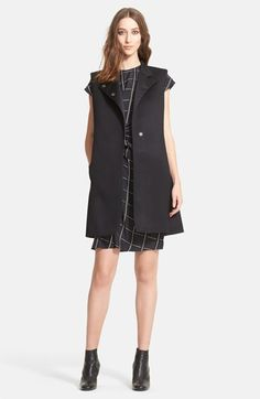 Lanvin Double Wool Gabardine Vest available at #Nordstrom