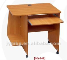 Wooden Computer Table With Study Design