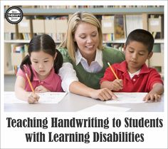 School based occupational therapists frequently evaluate and treat students with learning disabilities especially including handwriting difficulties in some districts.  Many school districts are moving away from handwriting instruction although students are still required to submit handwritten assignments.  Children with learning disabilities may have slow, illegible handwriting resulting in decreased written output.  Students in early elementary …