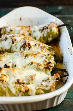 Spicy, smoky, a little sweet, a lot succulent - Spiced Pork Stuffed Hatch Chile is great as a party appetizer, main meal or an easy weeknight dinner! Hatch Green Chili Recipe, Green Chili Recipes, Hatch Chili, Mexican Dishes, Mexican Food Recipes, Mexican Cooking, Pork Recipes, Cooking Recipes, Chipotle Recipes