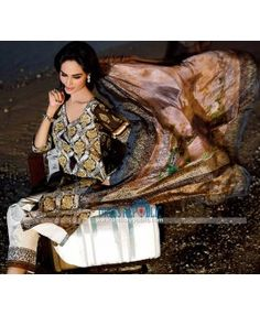 Ittehad Textiles Summer Lawn Collection 2015 By Designer HSY