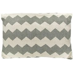 Gray  White Filled Chevron Pillow | Shop Hobby Lobby