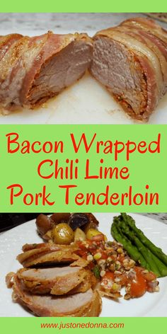 A quick, delicious chili lime marinated pork tende…