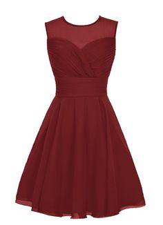 Wedtrend Women's Short Tulle Sweetheart Homecoming Dress Bridesmaid Dress Size 16 Burgundy