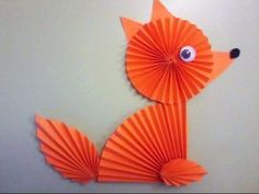 folded paper forest animal crafts «  funnycrafts