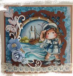 Magnolia Stamps Salute Tilda Sea Breeze Collection