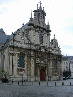 Beguinage Church in Brussels - Belgium