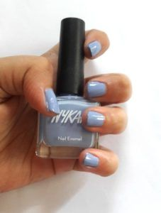 Nykaa Nail Enamel Lilac Cupcake and Kiwi Kooler  Nail paints are something that all of us have been putting on since we realised the importance of looking pretty! And I'm sure that like me, all of you have the habit of picking up nail paints whenever one catches your eye. I usually experience this childish thrill in trying out the different coloured nail paints whenever I get the chance to do so! So the moment Nykaa launched its vast array of shades, I swooped in to get myself a few ..